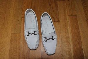 Weiße Loafers von Salamander