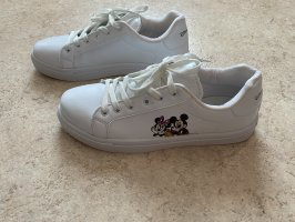 Weiße Mickey Mouse Sneaker