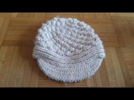 Roxy Cappello a maglia bianco