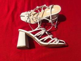 Weiße neue Topshop Riemchen Pumps High heels 38