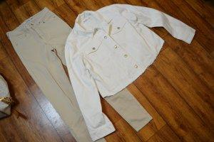 Nakd Veste en jean blanc
