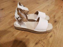 H&M Sandalen met bandjes en hoge hakken wit