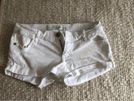 Weiße Shorts von Abercrombie