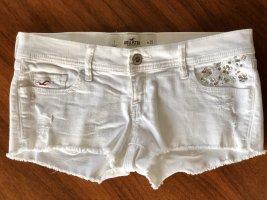 Weiße Shorts von Hollister