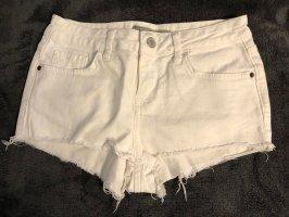 Weiße Shorts von Topshop