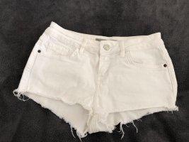 Topshop Hot Pants white