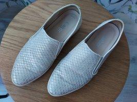 Gabor Zapatos formales sin cordones blanco-color plata