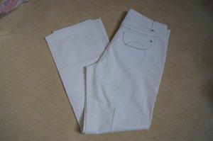 Apriori Straight Leg Jeans white cotton