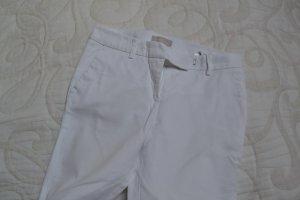 Weiße Sommerhose von Stefanel Gr. IT40 ( D 36 )