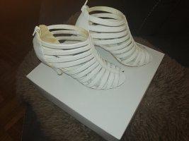 Graceland Bottine ajourée blanc