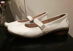 Gabor Ballerines à lacets blanc