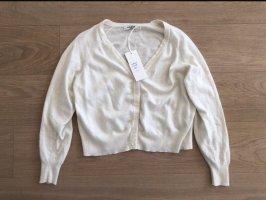 Sweewe Giacca in maglia bianco-bianco sporco