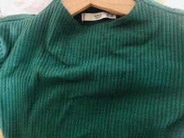 Weiße und Grünen Mango-Körper umarmender Pullover 1+1 Gr XS/S