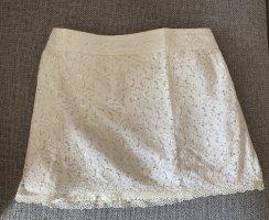 Abercrombie & Fitch Falda de encaje multicolor