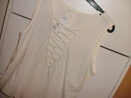 H&M Basic topje wit Katoen