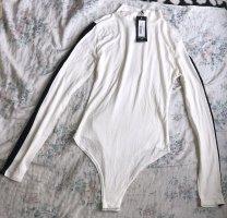 I saw it first Basic Bodysuit white-black