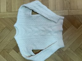 C&A Coarse Knitted Sweater white-natural white