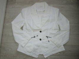 weißer Jeans-Blazer Gr. 38/40 - wie Neu