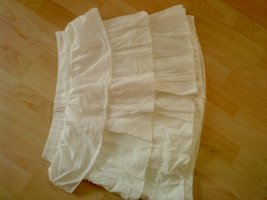 Broomstick Skirt white cotton