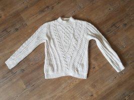 weißer Pullover von Mango