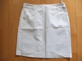 More & More Spódnica midi biały Bawełna
