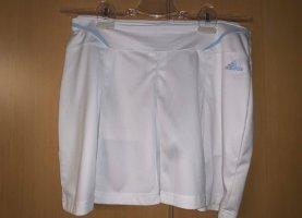 Adidas Falda de patinador blanco-azul claro