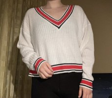 H&M Divided V-Neck Sweater multicolored