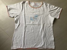 TCM T-Shirt white-apricot cotton