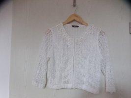 Boléro blanc polyester