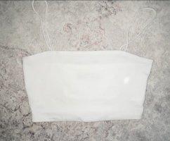Weißes Croptop von Shein
