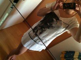 Edc Esprit Long Shirt white