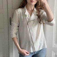 Weißes Esprit Hemd mit Reißverschluss
