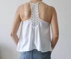 Only Camicia oversize bianco