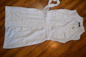 Weisses Hemdblusenkleid Gr. 40 neu von CBR