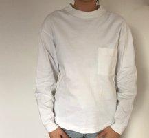 weißes Longsleeve Shirt von Uniqlo