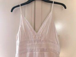 H&M Sukienka boho biały Bawełna