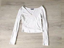 SheIn V-Neck Shirt white