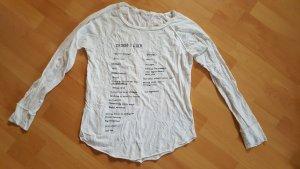 Oysho Pijama blanco-negro