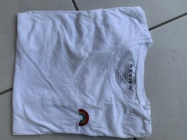 Weisses T-Shirt von Review
