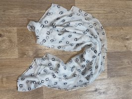 Neckerchief white-black