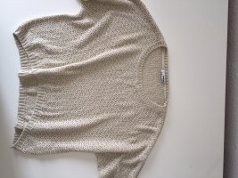 Tally Weijl Pullover all'uncinetto crema-oro