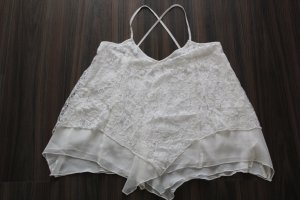 Abercrombie & Fitch Top wolwit-wit Polyester