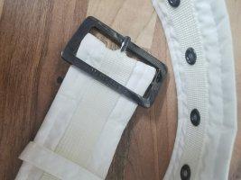 Wellensteyn Cinturón de lona blanco