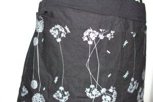 Göttin des Glücks Kopertowa spódnica czarny-srebrny Bawełna