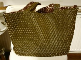 Turn Bag bronze-colored-olive green
