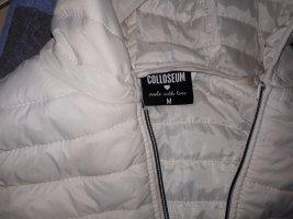 Colloseum Chaleco con capucha blanco