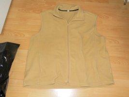 Fleece Vest cognac-coloured polyester