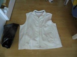 Fleece Vest white polyester