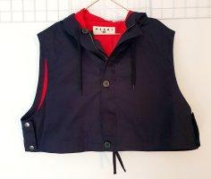 Marni at H&M Sports Vests dark blue cotton
