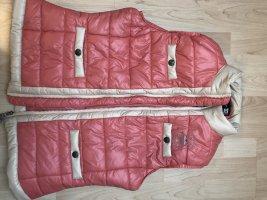 Gewatteerd vest roze